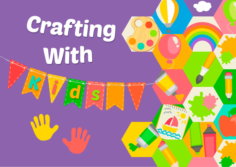 Crafting With Kids - Craft Den