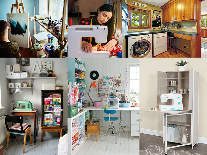Cozy Craft Dens: Turning Small Spaces into a Craft Room