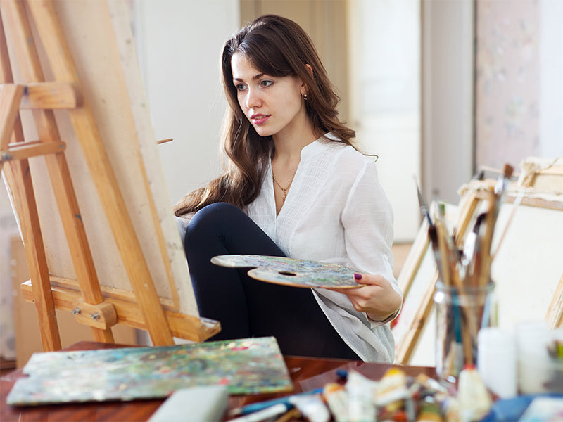 The Painter's Den: Creating an At-Home Art Studio