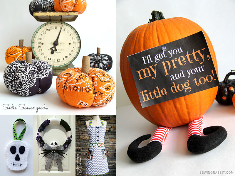 15 Spooky (And Not So Spooky) Sewing Projects for Halloween - Craft Den