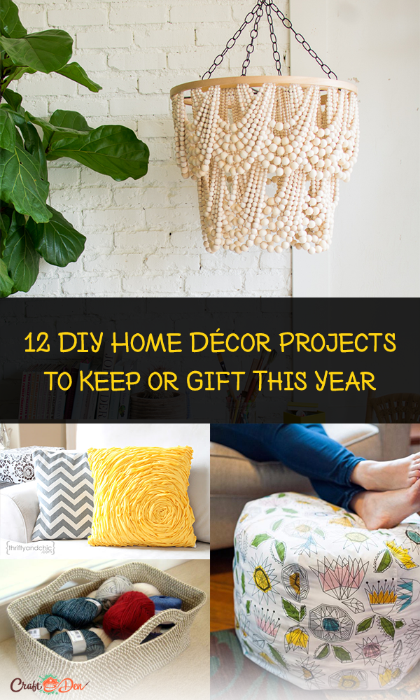 12 DIY Home Décor Projects to Keep or Gift This Year
