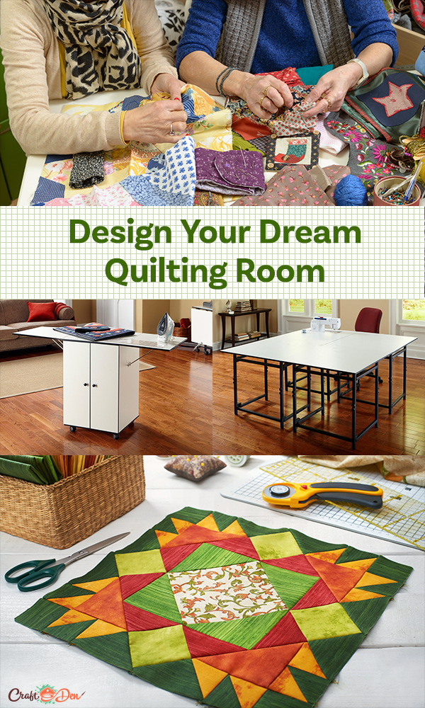 Design Your Dream Quilting Room