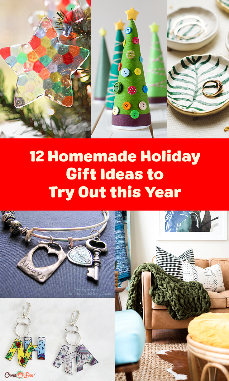 12 Homemade Holiday Gift Ideas to Try Out this Year