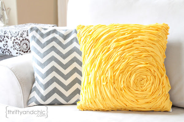 Rosette Pillows