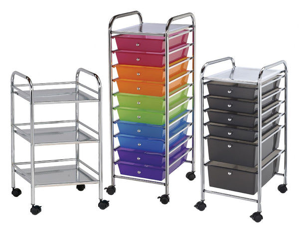 Rolling Art Supply Storage Carts
