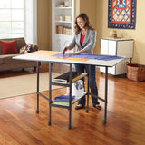 Adjustable Folding Home Craft and Hobby Table - Craft Den