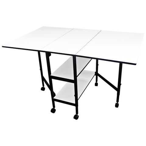Adjustable Folding Home Craft And Hobby Table   Craft Den ...