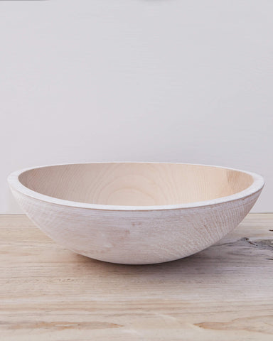 Wooden Peasant Bowl