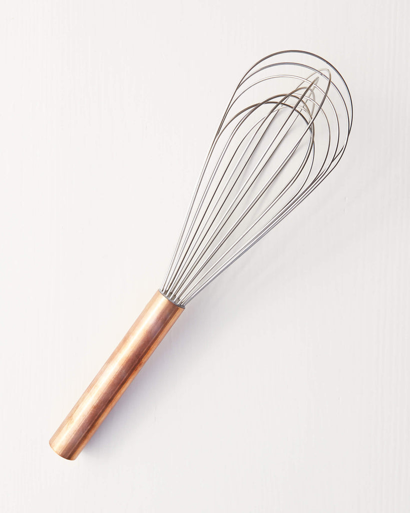 Copper Handled Whisk