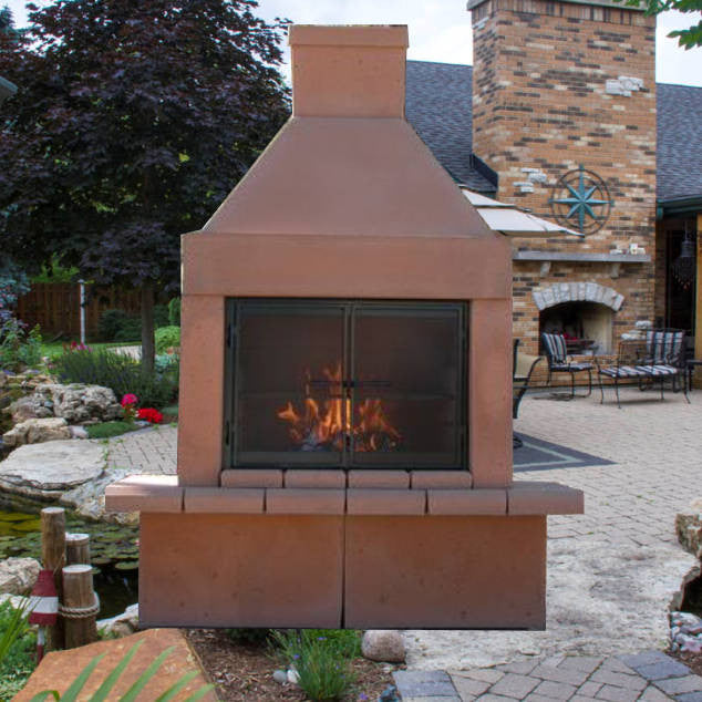 with backyard arizona place up designs landscape fire fireplaces ideas outdoor in cozy pin fireplace