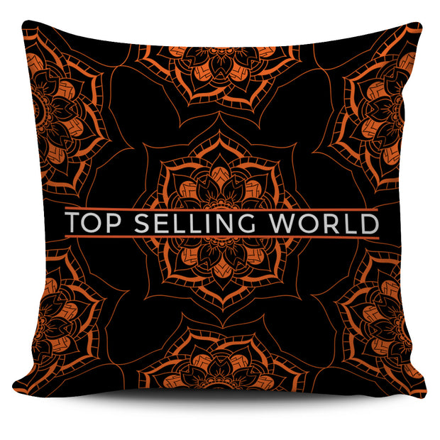 Lotus Mandala Pillow Cover