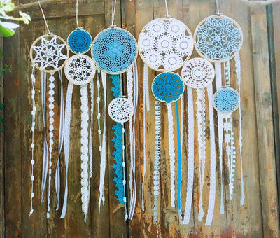 10 Roundie Hand-Woven™ Dream Catcher *FREE DELIVERY*