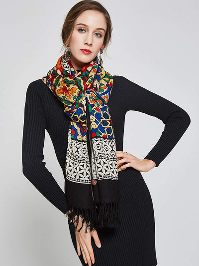 Large Pashmina Scarf/Shawl *SHIPS ONLY IN US*