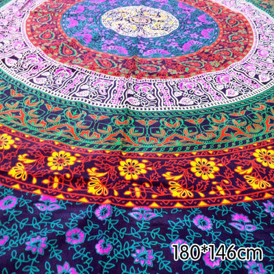 Indian Beauty Mandala Tapestry