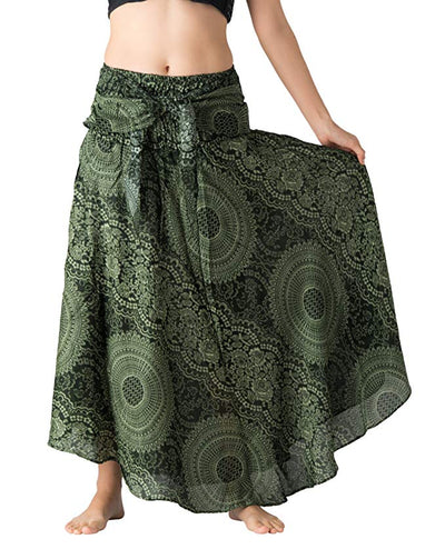 Hippie Asymmetric Skirt *SHIPS ONLY TO USA*