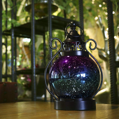 LED Glass Sphere Tabletop Lamp *SHIPS ONLY IN US*