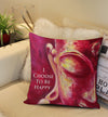 *I Choose To Be Happy* - Throw Pillow Cover