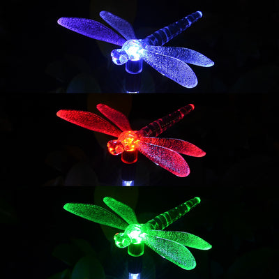 3 Pack Butterfly Solar Garden LED Lights *SHIPS ONLY IN US*