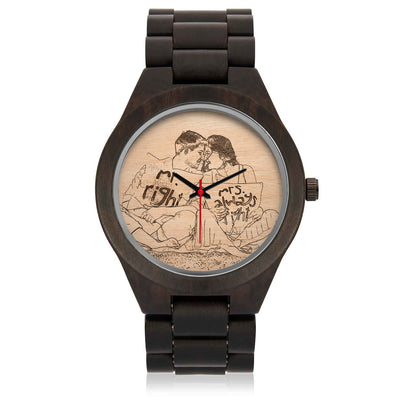 Engrave Your Wood Watch *WORLDWIDE FREE SHIPPING*