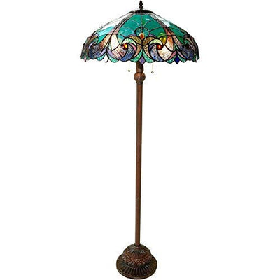 Handmade Multicolor Stain Glass Tiffany Lamp *SHIPS ONLY IN US*