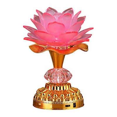 7 Colorful LED Lotus Night Lamp *SHIPS ONLY IN US*
