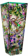 *Hand-Painted* Glass Vases *SHIPS ONLY IN US/CA*