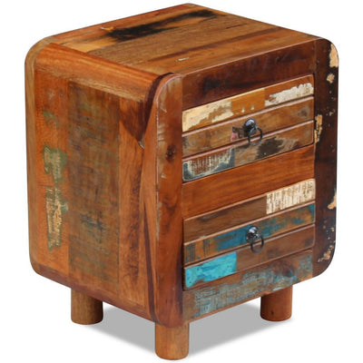 Colorful Rustic Night Stand *SHIPS ONLY IN US*