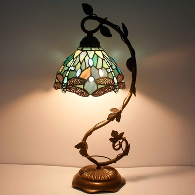 Dragonfly Crystal Stained Glass Lamp *SHIPS ONLY IN USA/AU*