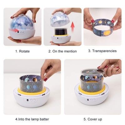 Decorative Night Light Projector *SHIPS ONLY IN US*