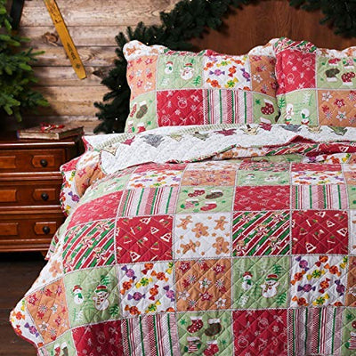 Christmas Quilt Set *SHIPS ONLY IN US*