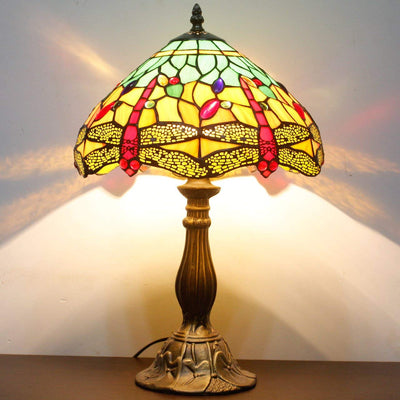 20% Dragonfly Glass Lamp