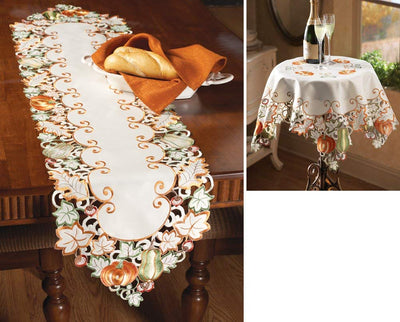 Autumn Gatherings Table Linens