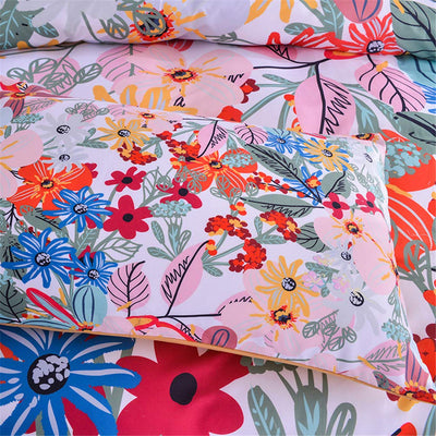 *LIGHTWEIGHT* Floral Pattern Bed Set *SHIPS ONLY IN US*