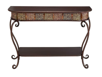 Scrolling Accent Sofa Table *SHIPS ONLY TO US*