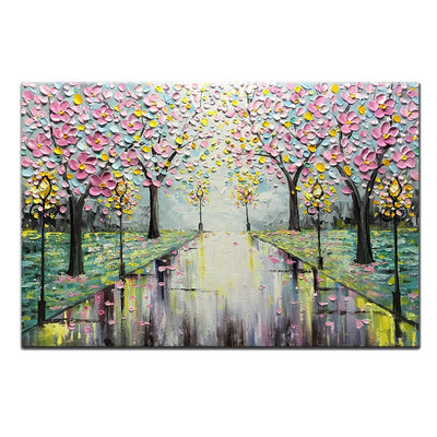 3D Cherry Blossom Canvas *SHIPS ONLY IN US*
