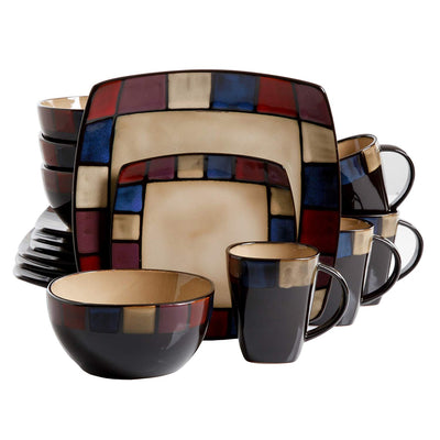 Mosaic Lounge Dinner Set *SHIPS ONLY IN US*