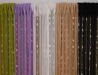 Beaded Tassel Door Curtains *SHIPS ONLY IN US*