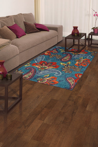 Floral Wave Area Rug *SHIPS ONLY IN US*