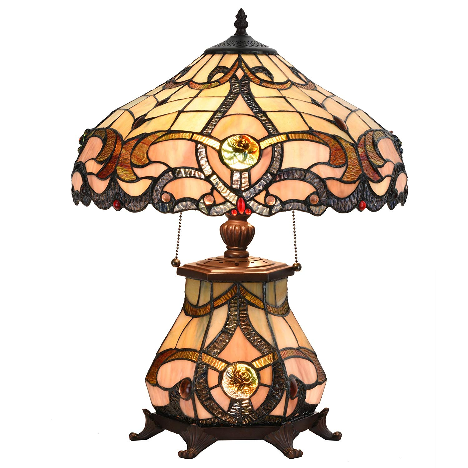 Victorian Stained Glass Lamp Ships Only In Usa Top Selling World
