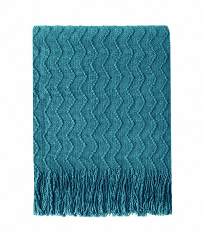 Colorful Decor Throw Blanket *SHIPS ONLY IN US*