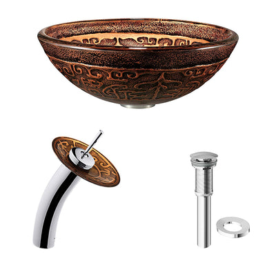 Golden Greek Bath Accessories *SHIPS ONLY IN US*