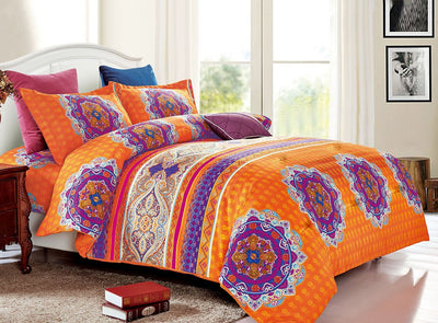 Bright Mandala Comforter Set *SHIPS ONLY TO USA*