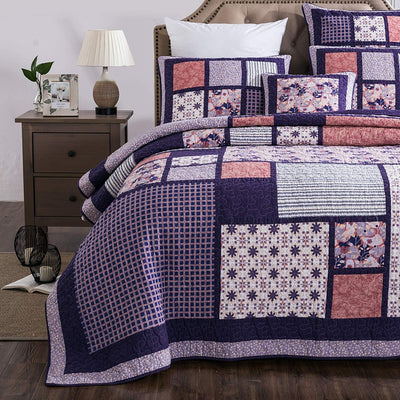 Cherry Blossom 3Pc Quilt Set *SHIPS ONLY IN US*