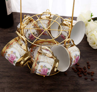 Retro European Tea Set *SHIPS ONLY IN US*