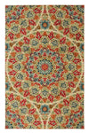 Floral Bohemian Jerada Area Rug *SHIPS ONLY TO USA*