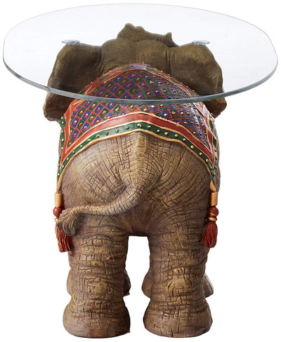 Fortune Elephant Decor Table *SHIPS ONLY IN USA*