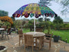 *HANDMADE* Boho Colorful Umbrellas for Patio *SHIPS ONLY IN US*