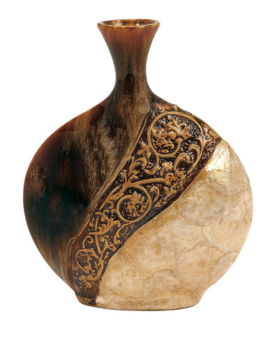 Boho Shell Vase *SHIPS ONLY IN US*
