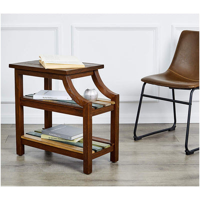 Multi Brown End Table *SHIPS ONLY IN US*