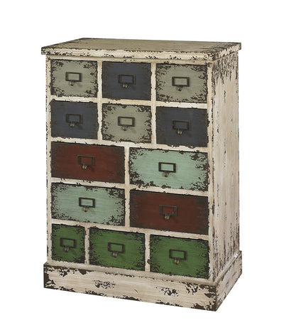 Vintage 13 Drawer Cabinet *SHIPS ONLY IN US*